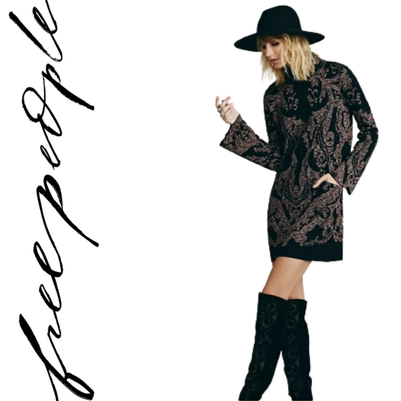 NWT Free People Modern Love Mini Dress